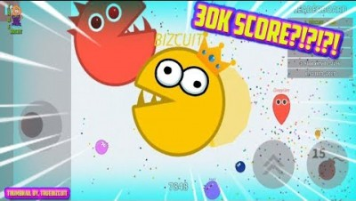 SOUL.IO [100% MAP CONTROL] BIGGEST PACMAN EVER! NEW IO GAME: +30,000 HIGH SCORE STRATEGY!