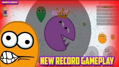 SOUL.IO [WORLD RECORD GAMEPLAY?!?!?!] +12,000 BIGGEST PACMAN EVER | NEW IO GAME