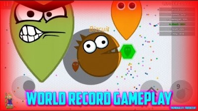 SOUL.IO [WORLD RECORD GAMEPLAY] +30,000 BIGGEST PACMAN EVER - NEW IO GAME