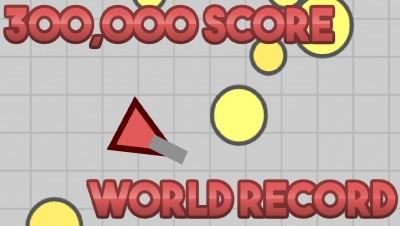 Spaceblast.io WORLD RECORD - 300,000 Points (New Diep.io-like .io game)