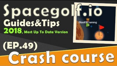 SpaceGolf.io in 90 seconds! ( Tip & Tricks included ) | #Random.io Crash Course 49 | SpaceGolfio