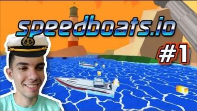 Speedboats.io - O BARCO TA PEGANDO FOGO! - Gameplay #1