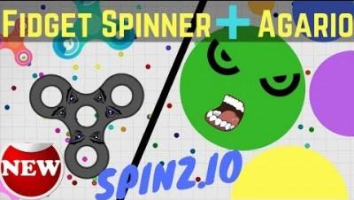 Spinz.io - Fidget Spinner + Agar.io / Agario Clone Game (Epic Battle) spinz.io gameplay
