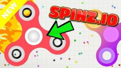 Spinz.io - NEW AGAR.IO FIDGET SPINNER! New Fidget Spinner .IO Game!