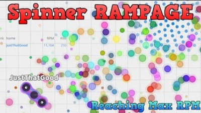 SPINZ.IO REACHING MAX RPM | RAMPAGE