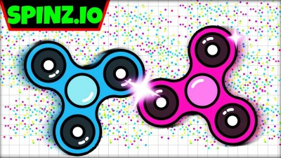 SPINZ.IO - WORLD'S FASTEST FIDGET SPINNER | BEST FIDGET SPINNER | NEW .IO GAME