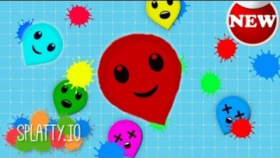 Splatty.io - New IO GAME / Balloon Paint Epic Fight Battle / Cutest Balloon - splatty.io gameplay