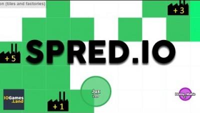 Spred.io - Как Agar.io только ещё можно строить и захватывать.