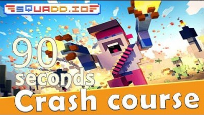 Squadd.io in 90 seconds! ( Tip & Tricks included ) | #Random.io Crash Course 38 | Squadd.io