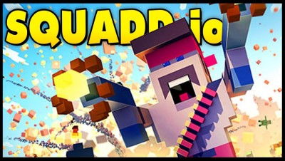 Squadd.io - MINIGUN MADNESS! Epic New .io Game! [Squadd.io Gameplay & Top Leaderboard Player]