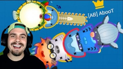 StabFish.io - BATALHA DE PEIXES GORDINHOS ‹ AbooT ›