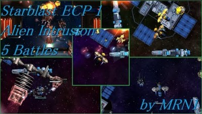 Starblast ECP 1 Alien Intrusion【5 battles】2019/02/11~03/10 by MRN1