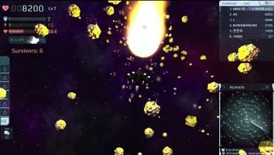 STARBLAST.IO 127 SurvivalMode [Acarocis Shadow X-3] by MRN1