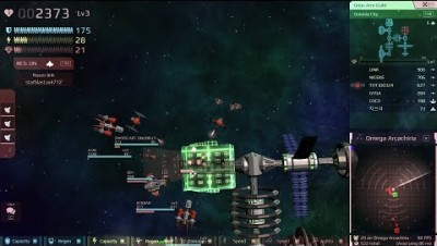 STARBLAST.IO 34 TeamMode [Omega Arcachiria Side-Fighter] by MRN1