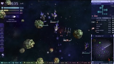 STARBLAST.IO 45 TeamMode [Arcatos 57 Rock-Tower] by MRN1