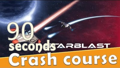 Starblast.io in 90 seconds! ( Tip & Tricks included ) | #Random.io Crash Course 6 | Starblast.io