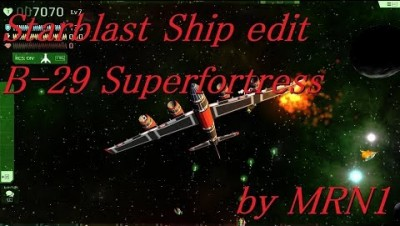 Starblast Ship edit part2【B-29 Superfortress】by MRN1