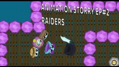 Starve.io AFK base raiders (Starve.io animation)