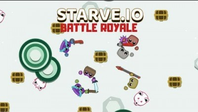 Starve.io / BATTLE ROYALE (Official Mode) - Beta + Tutorial
