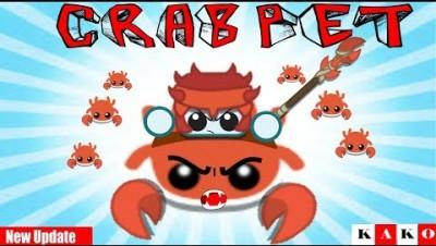 STARVE.IO CRAB UPDATE /CRAB MY PET /How To Get CRAB GEAR /FULL CRAB - COMO FAZER ARMAS DE CARANGUEJO