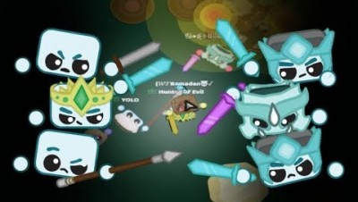 Starve.io Crown Of Life Good Guys Vs Evil Dragon Gear Army in Eu 1