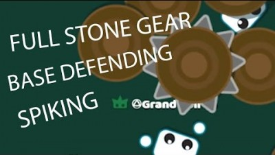 Starve.io EPIC FULL STONE GEAR SPIKE RAMPAGE