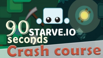 ✔ Starve.io in 90 seconds! ( Tip & Tricks included ) | #Random.io Crash Course 12 | Starve.io
