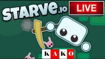 STARVE.IO Jogando com INSCRITOS - KAKO_Xtreme Jogando com Inscritos