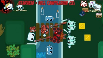 Starve.io - Kill Compilation (3) + new update