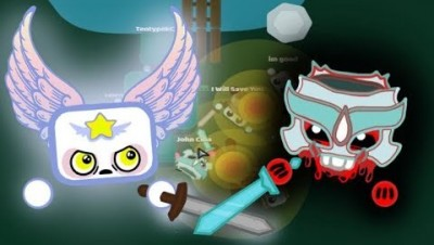 Starve.io Killing Savages In Eu 1 And Protecting The Server | Stone Vs Dragon Helmet