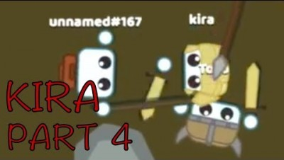 Starve.io KIRA THE MOVIE - MOST DANGEROUS GAMEPLAY EVER?! PART 4