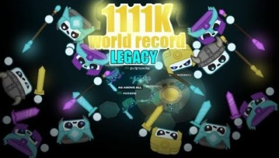 Starve.io LEGACY MODE WORLD RECORD 1111K AG VS ALL !