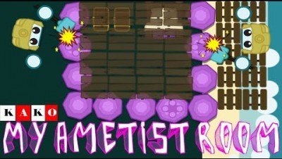 STARVE.IO MY AMETIST ROOM - MEU QUARTO DE AMETISTA STARVE.IO - Amethyst Base