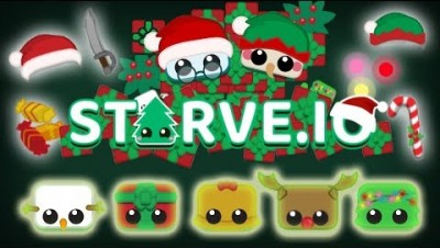 Starve.io New Christmas Re-Update 4 Quests Attept
