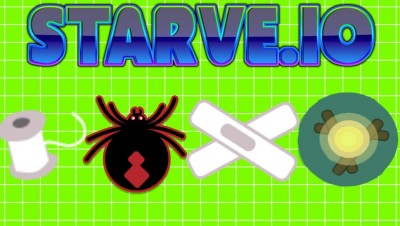 Starve.io New Spiders Update - New Mob, Bandages, Big Fireplace and  Spider Threads