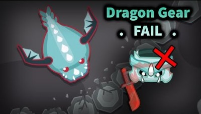 Starve.io - New Update Dragon Gear Fail #1 | ReUploaded