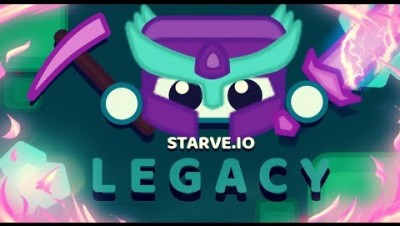 Starve.io - New update, legacy mode and fighting savages!