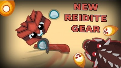 Starve.io NEW UPDATE - New Reidite Gear with LAVA Dragon and Amethyst Protector
