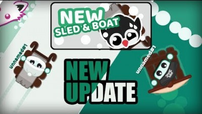 Starve.io - NEW Update - New Sled and Boat in Starve.io