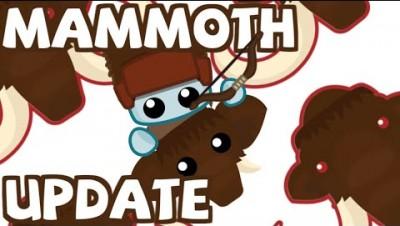 Starve.io New Winter Update - Mammoth, Bow & Fur Hat