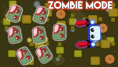 STARVE.IO - NEW ZOMBIE MODE // DESTROYING THE WHOLE SERVER WITH ZOMBIES !!