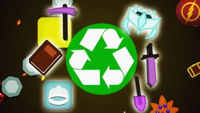 Starve.io - RECYCLE ALL ITEMS (Starve.io Experiment)