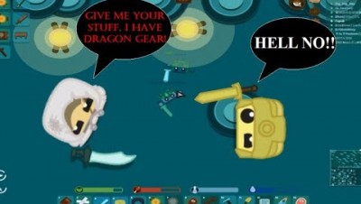 Starve.io Seeking Savages In Ru 1 | Gold Gear Vs Dragon Gear