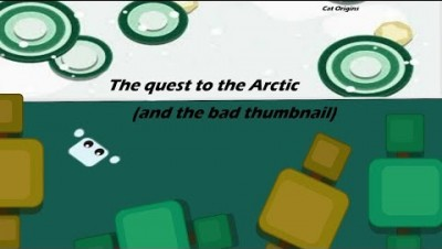 Starve.io // The quest to the Arctic- my FIRST TIME going to the Arctic // Cat Origins
