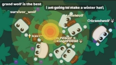 Starve.io THROWING FAKE FANS OUT OF THE BASE GOES ENDLESS CHASE