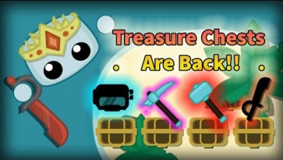 Starve.io - TREASURE CHESTS ARE BACK | New Update Treasure Hunting #1