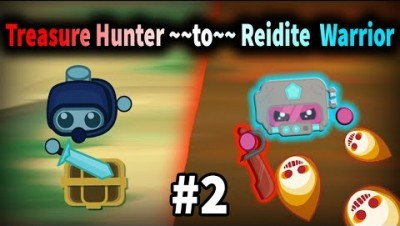 Starve.io - Treasure Hunter to Reidite Warrior | Sad Ending #2