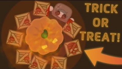"""Starve.io TROLLING """"TRICK OR TREAT"""" Halloween Special!"""