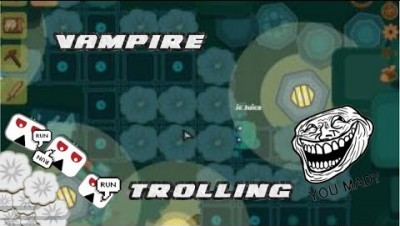 Starve.io Vampire Mode Trolling | Killing Vampires With Garlic | Garlic Farm