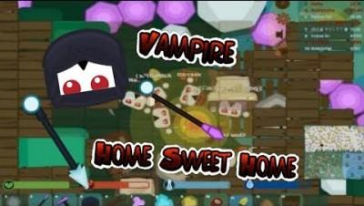 Starve.io Vampire Mode | Winter Hood Vampire Amethyst Base With Beds